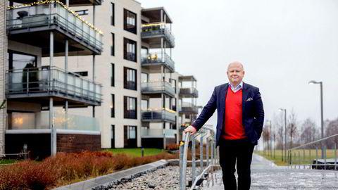Administrerende direktør Baard Schumann i Selvaag Eiendom advarer om at prosjekter legges på is dersom dagens utvikling i Oslo-markedet fortsetter.