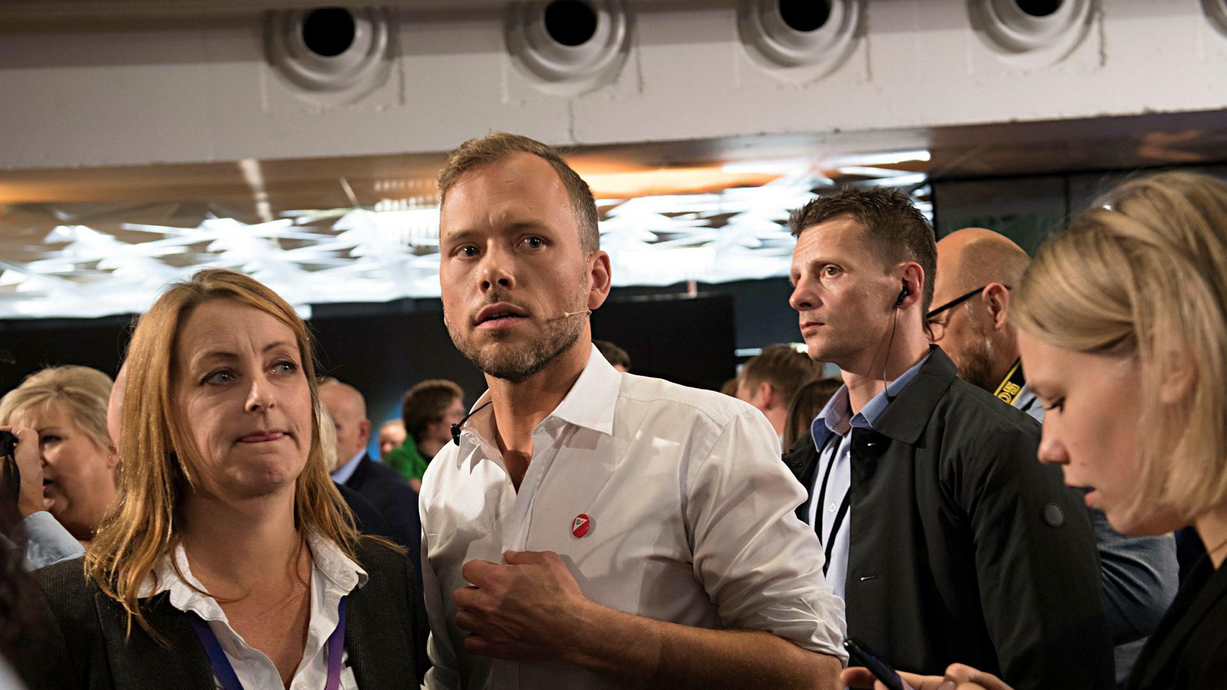 SVs partileder Audun Lysbakken imponerte mest under NRKs partilederdebatt i Bergen fredag kveld, mener valgeksperter