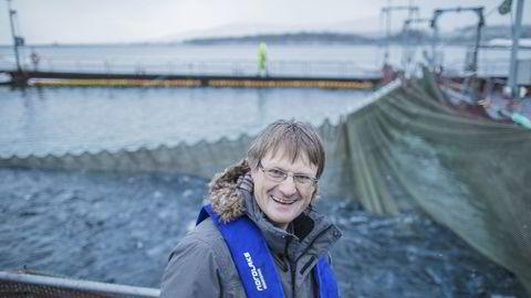 Inge Berg er gründer, heleier og administrerende direktør i Nordlaks-konsernet.