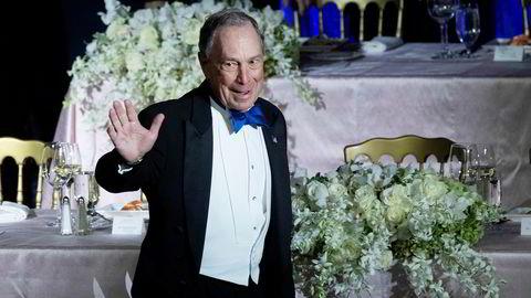 Michael Bloomberg setter denne uken tv-reklamerekord i amerikansk presidentvalgkamp.