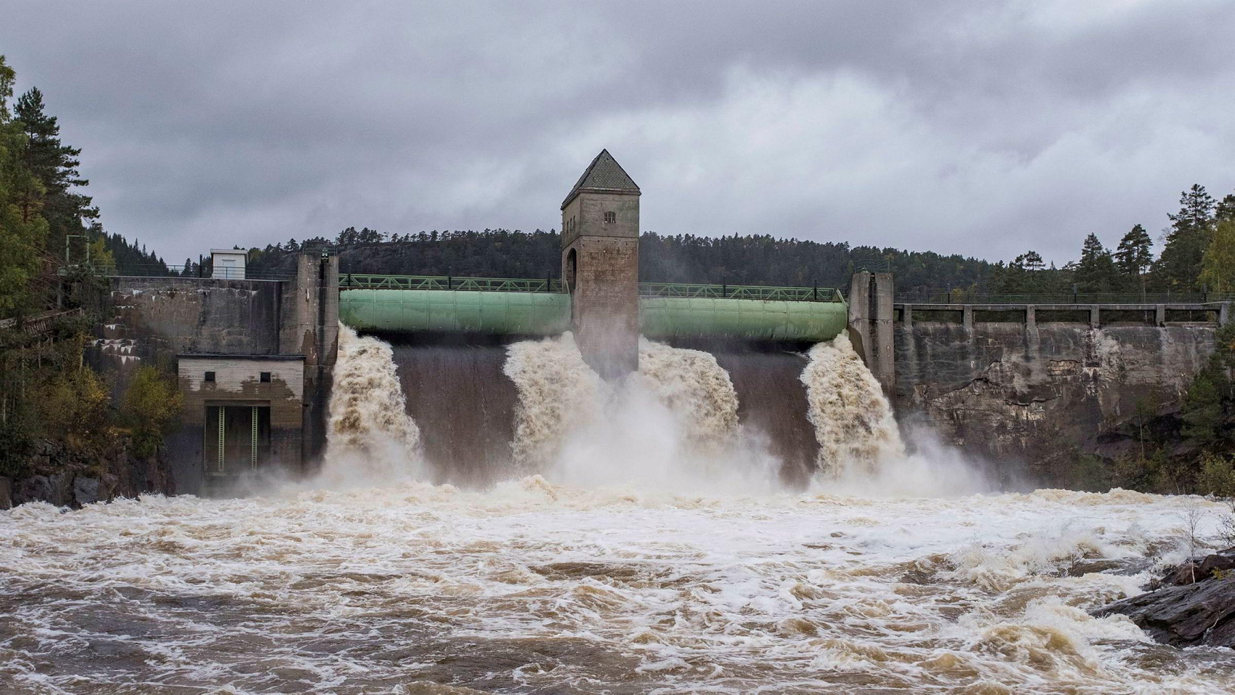 Mer nedbør på grunn av klimaendringer vil gi mer vannkraft i Norge.