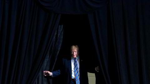 Tiltale og benådning er spørsmål om straff – men med Trump i presidentstolen, er også sivile søksmål mot presidenten mer aktuelle enn noen gang, skriver artikkelforfatteren. Her Donald Trump før en tale i Huntington, West Virginia, USA.