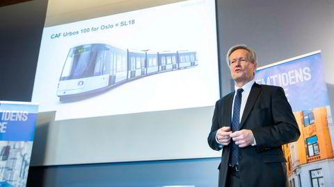 Cato Hellesjø ble tirsdag ny styreleder i Bane Nor