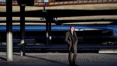 Gorm Frimannslund er administrerende direktør i Bane Nor SF, som springer ut fra regjeringens jernbanereform som trådte i kraft ved årsskiftet.
