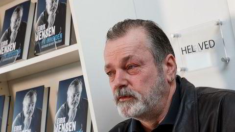 """Rettssaken mot den narkotikasiktede polititoppen Eirik Jensen begynner rett over nyttår. Bildet er fra da Jensen lanserte sin bok """"På innsiden - historien om mitt politiliv"""" tidligere i år."""