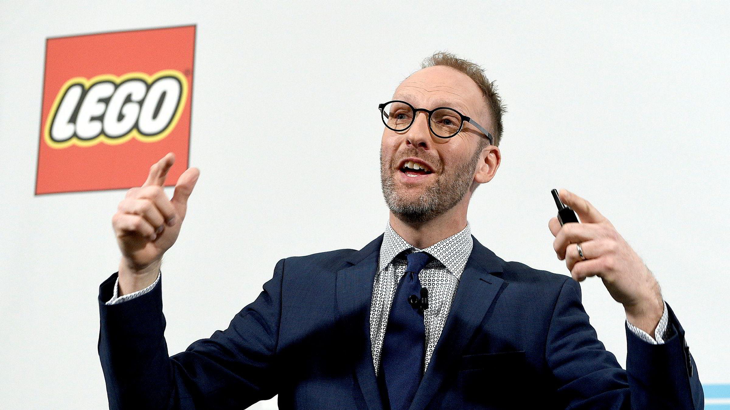 Styreleder Jørgen Vig Knudstorp i Lego.