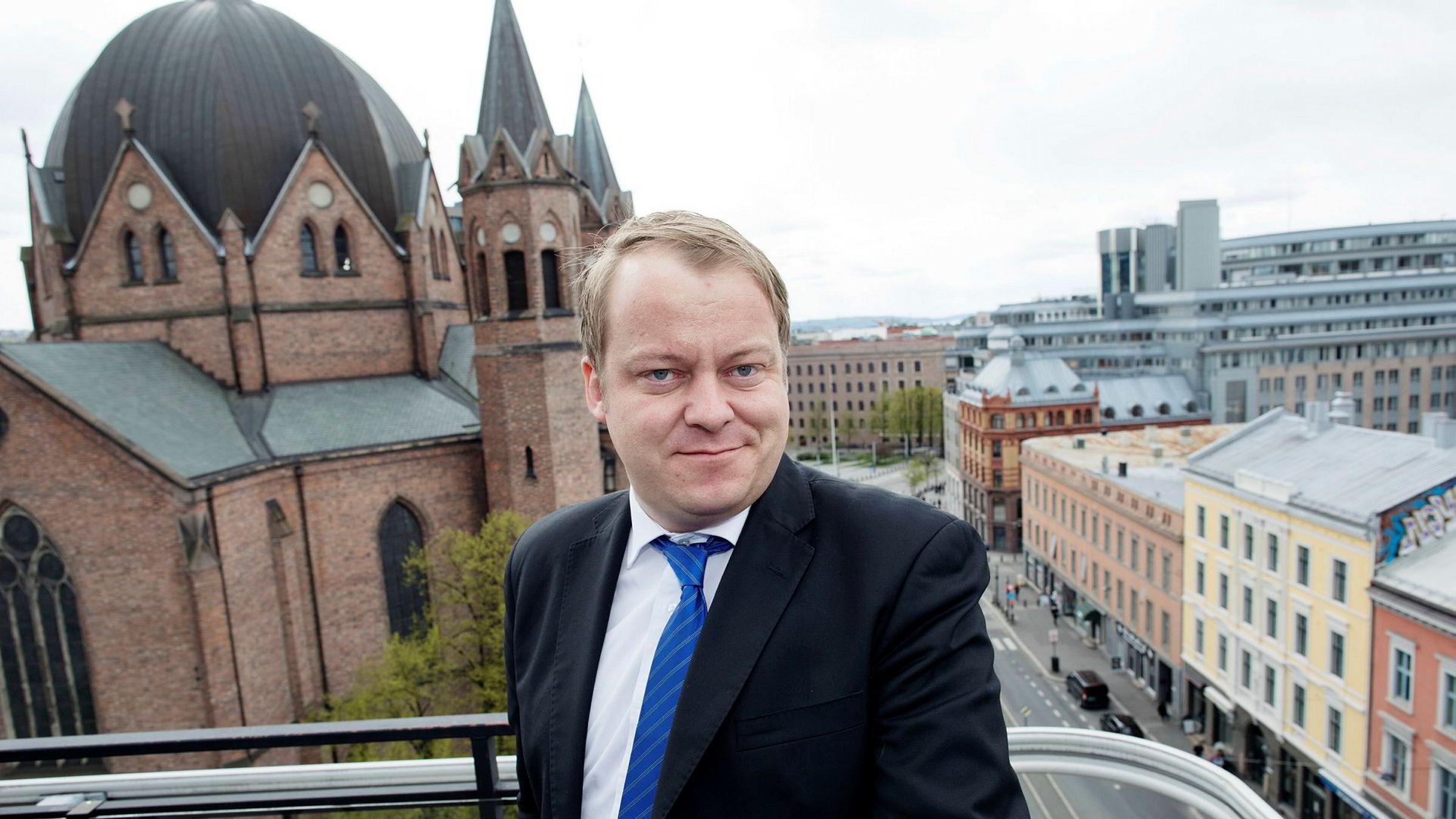 Erlend Wiborg har ledet et utvalg i Frp som anbefaler at partiet skal snu og gå inn for å avvikle kontantstøtten.