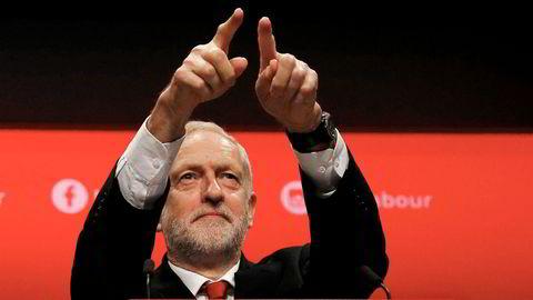 orrige uke talte Labour-leder Jeremy Corbyn til sitt partilandsmøte. Han nevnte knapt de pågående brexit-forhandlingene.