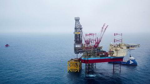 Riggen Maersk Interceptor, hvor én person omkom og en annen ble alvorlig skadet i en ulykke 7. desember i fjor.