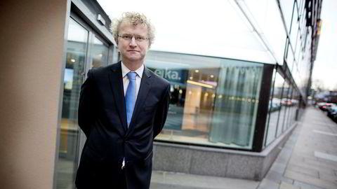 Sjeføkonom Jan Ludvig Andreassen i Eika er urolig for husholdningenes gjeldsvekst.