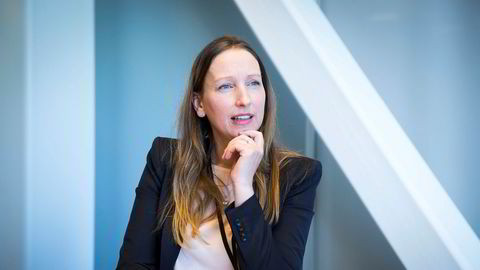 Sjeføkonom Kjersti Haugland i DNB Markets synes utviklingen i norsk sysselsetting er bekymringsfull. – Å holde folk i arbeidslivet er en viktig suksessfaktor for et land, sier sjeføkonomen.