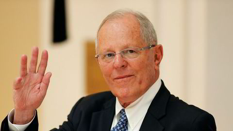 Fire partier vil stille Perus president Pedro Pablo Kuczynski for riksrett. Foto: Jorge Silva / Pool photo via AP / NTB scanpix