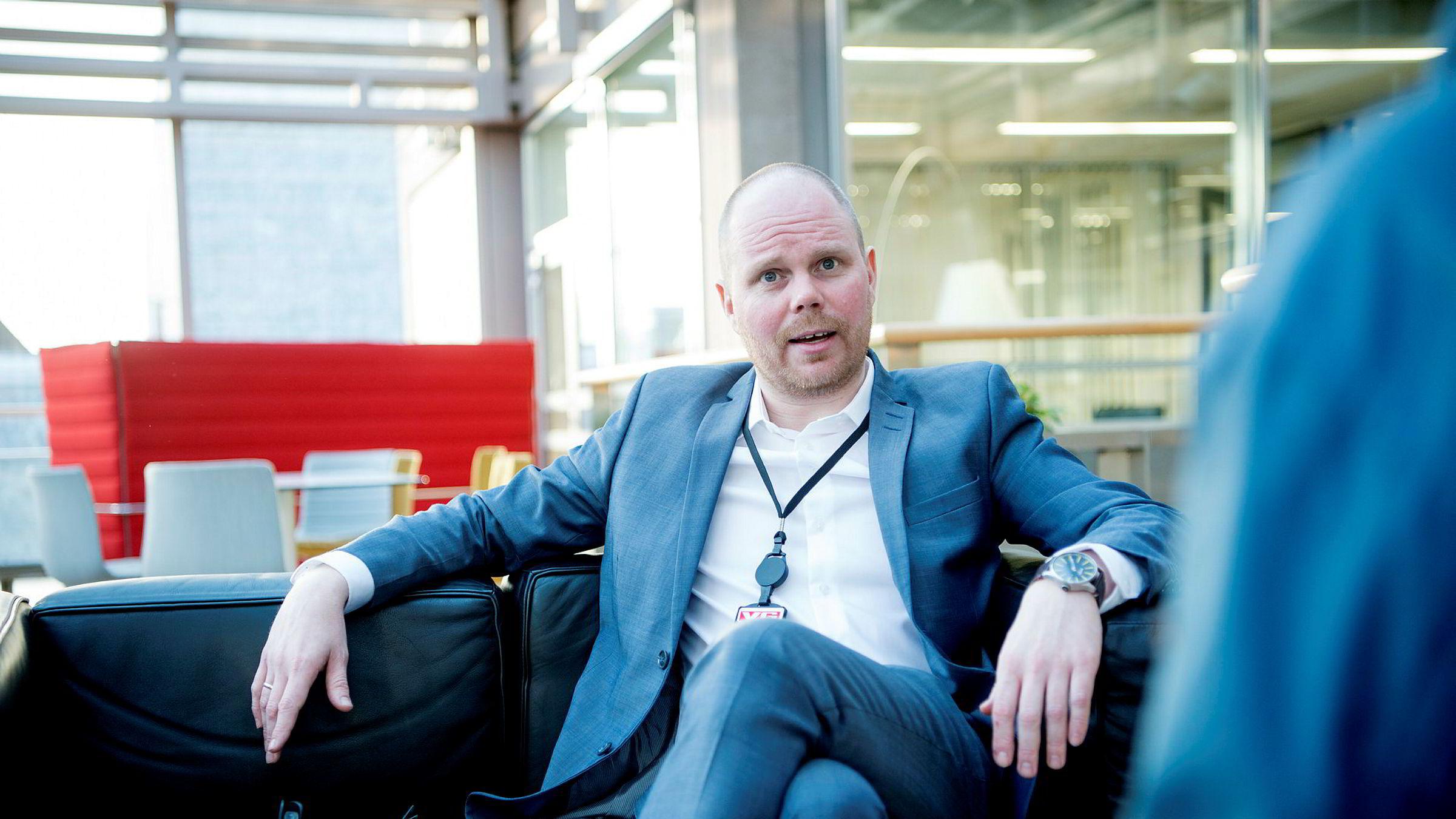 Gard Steiro er ansvarlig redaktør og administrerende direktør i VG.