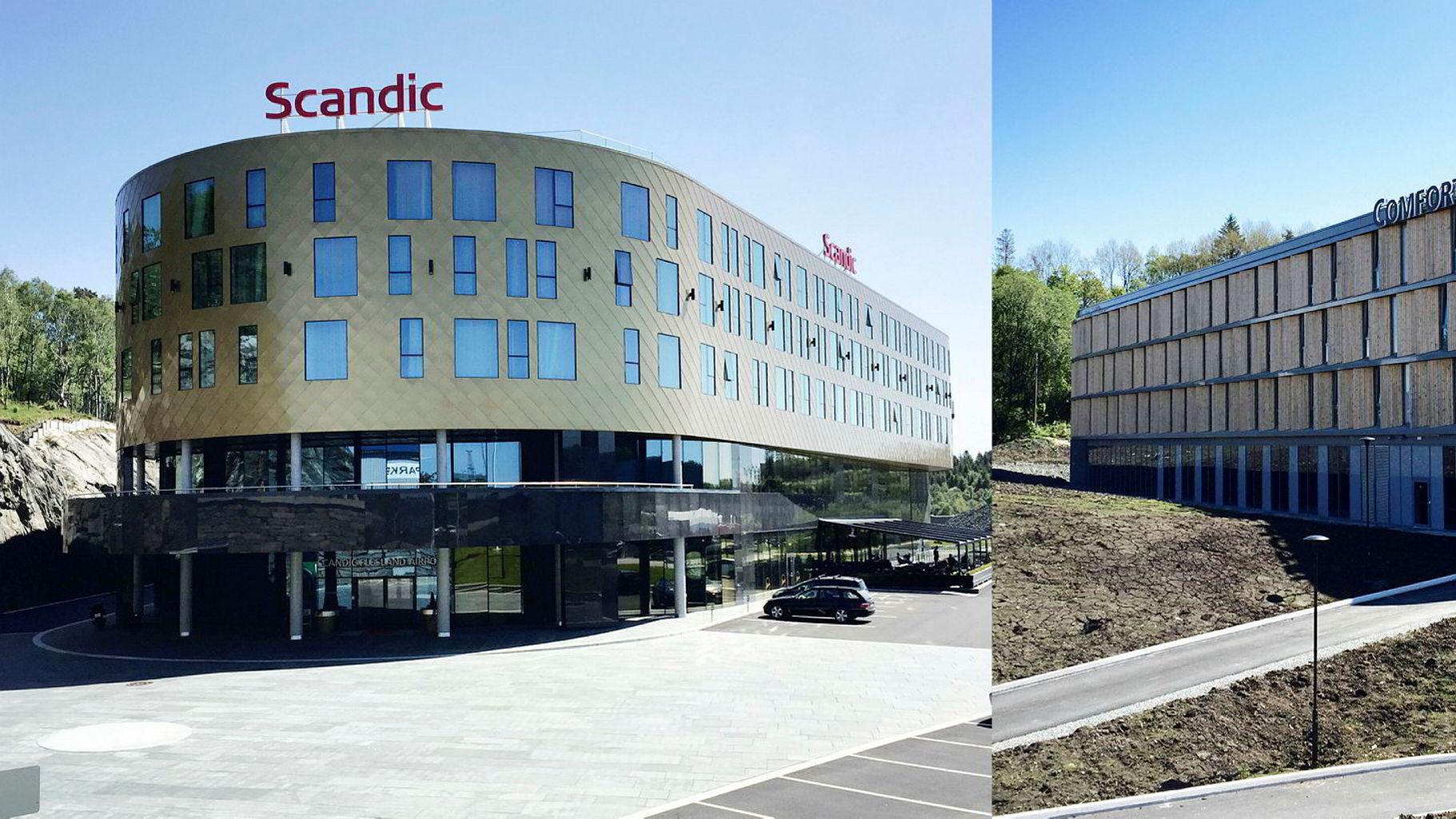 Scandic Flesland Airport og Comfort Hotel Bergen Airport åpnet begge i år.