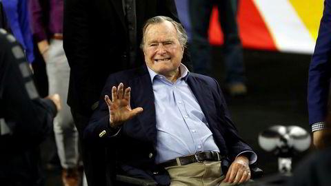 Tidligere president George H. W. Bush har skrevet brev til Donald Trump og forklart hvorfor han ikke kan være til stede på insettelsesseremonien.