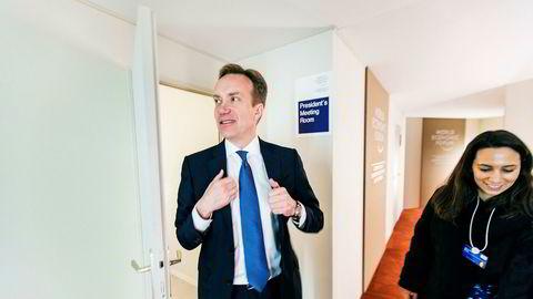 WEF-president Børge Brende, mener avdekkingen av seksuell trakassering overfor kvinner er noe av det viktigste som har skjedd og er ansvarlig for World Economic Forum (WEF) i Davos denne uken, møteplassen for 900 av de viktigste næringslivslederne og 70 stats- og regjeringssjefer.