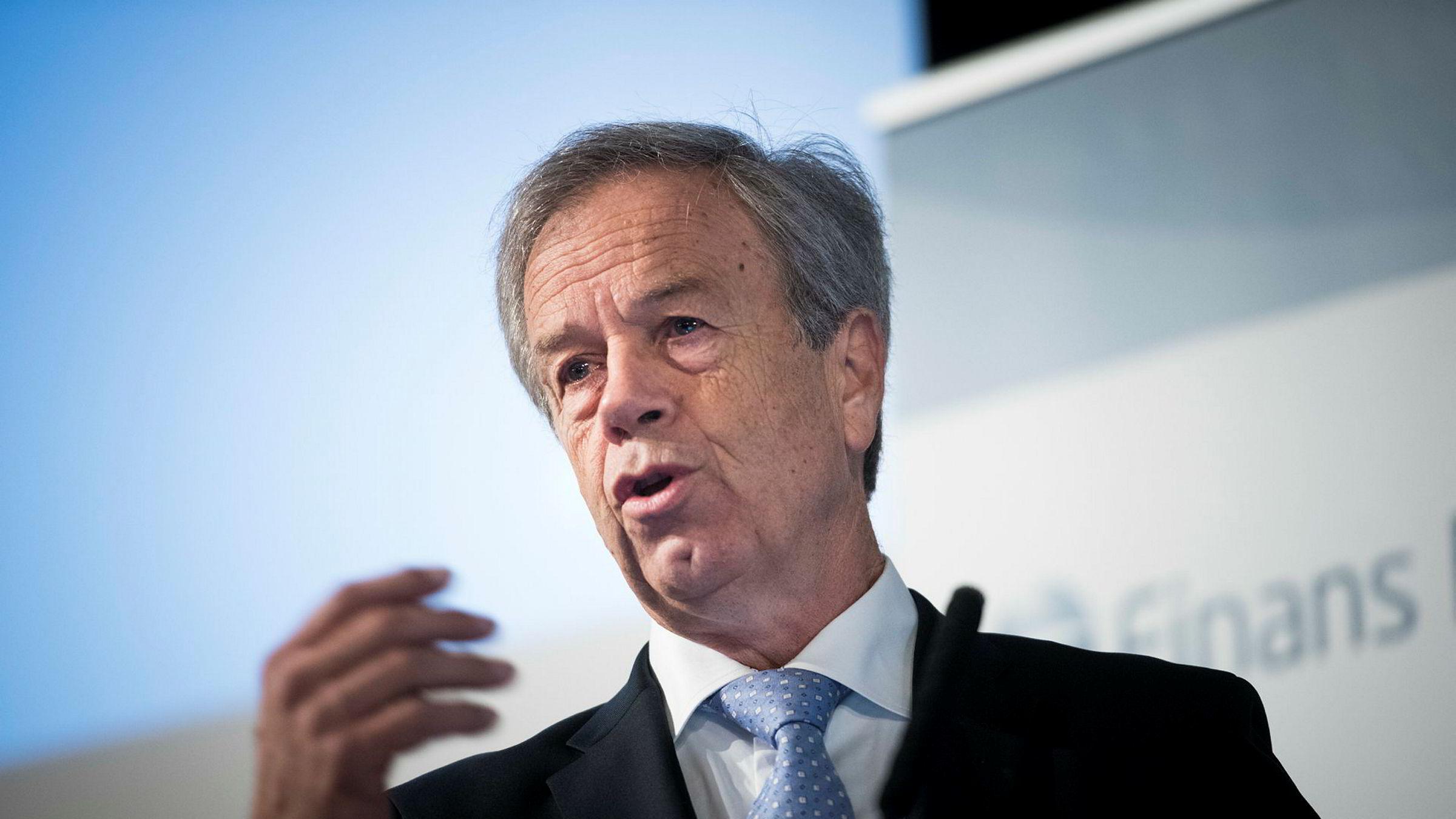 Sentralbanksjef Øystein Olsen advarer mot å tro at bitcoin er et sikkert investeringsobjekt.