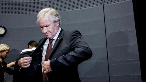 Konsernsjef i Norwegian, Bjørn Kjos.