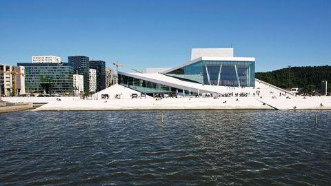 Norsk ikon. Snøhettas Oslo-opera har fått æren av å prege forsiden på William C. Millers engelskspråklige bok om nordisk modernisme.