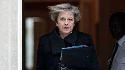 Storbritannias statsminister Theresa May vil onsdag sende et brev til EU der hun gjør det klart at Storbritannia har som intensjon å forlate unionen.
