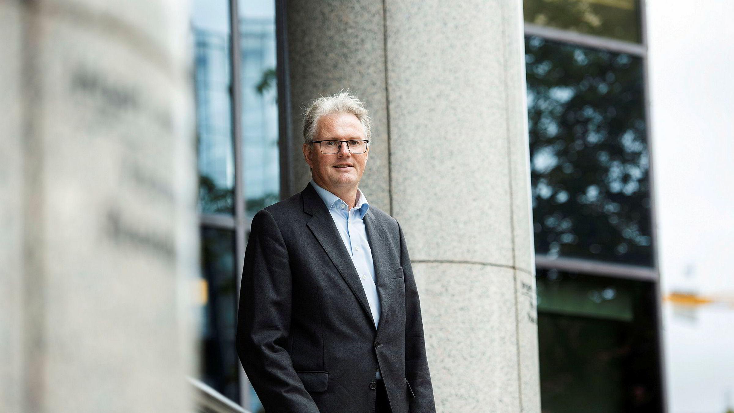 Forvalter Leif Eriksrød i Alfred Berg Kapitalforvaltning.