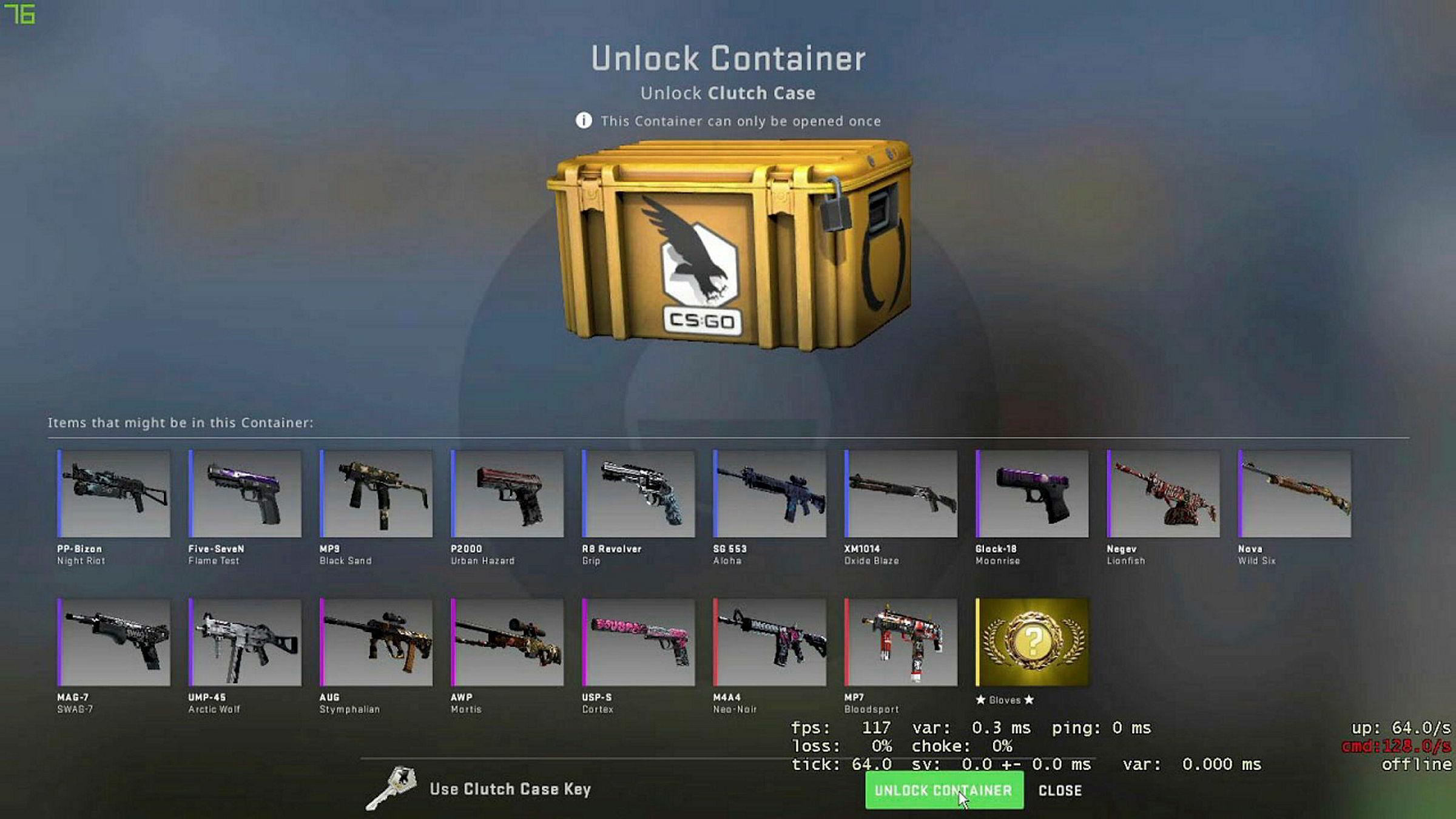 I videospillet Counter-Strike: Global Offensive har det vært mulig å kjøpe og selge virtuelle våpen på en markedsplass. Dette er noe kriminelle nettverk har brukt for å hvitvaske illegale midler.