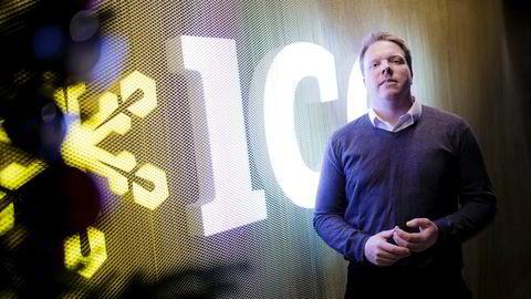 En långiver mener Ice skylder 137 millioner dollar for 14 brudd på en låneavtale. Her Ice-sjef Eivind Helgaker.