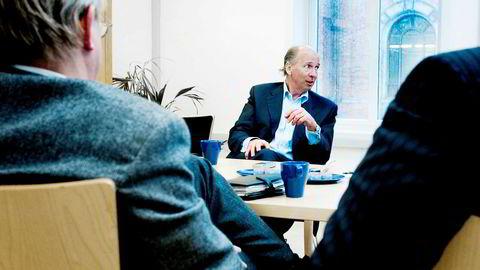 Investor Øystein Tvenge (62) tok det kraftige børsfallet tirsdag med stor ro. Bildet er fra 2007.