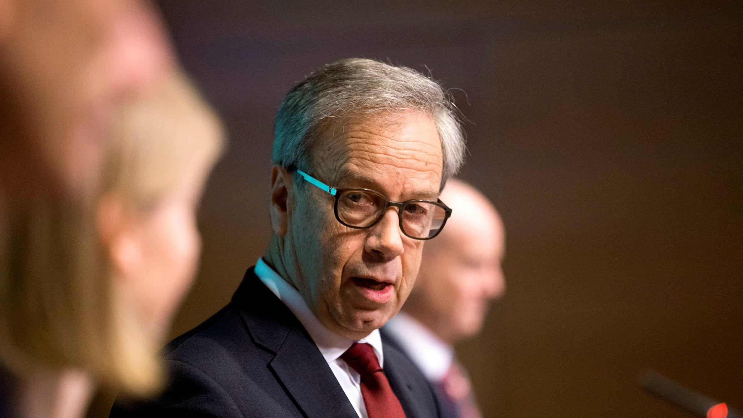 Torsdag legger sentralbanksjef Øystein Olsen frem Norges Banks rentebeslutning.