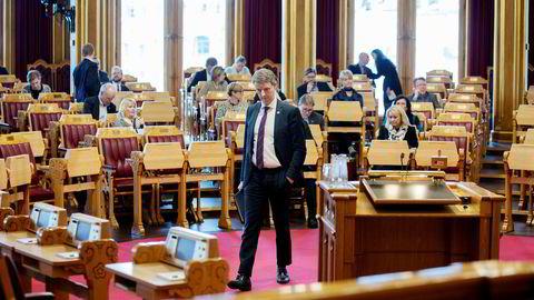 Olje- og energiminister Terje Søviknes.