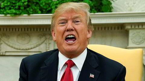 USAs president, Donald Trump, skal ha betalt en solid sum penger for at en tidligere pornoskuespiller ikke å gå til pressen.