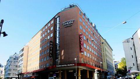 Oppussingen som nylig er gjennomført, redder ikke helhetsinntrykket av Thon Hotel Munch i Oslo sentrum.