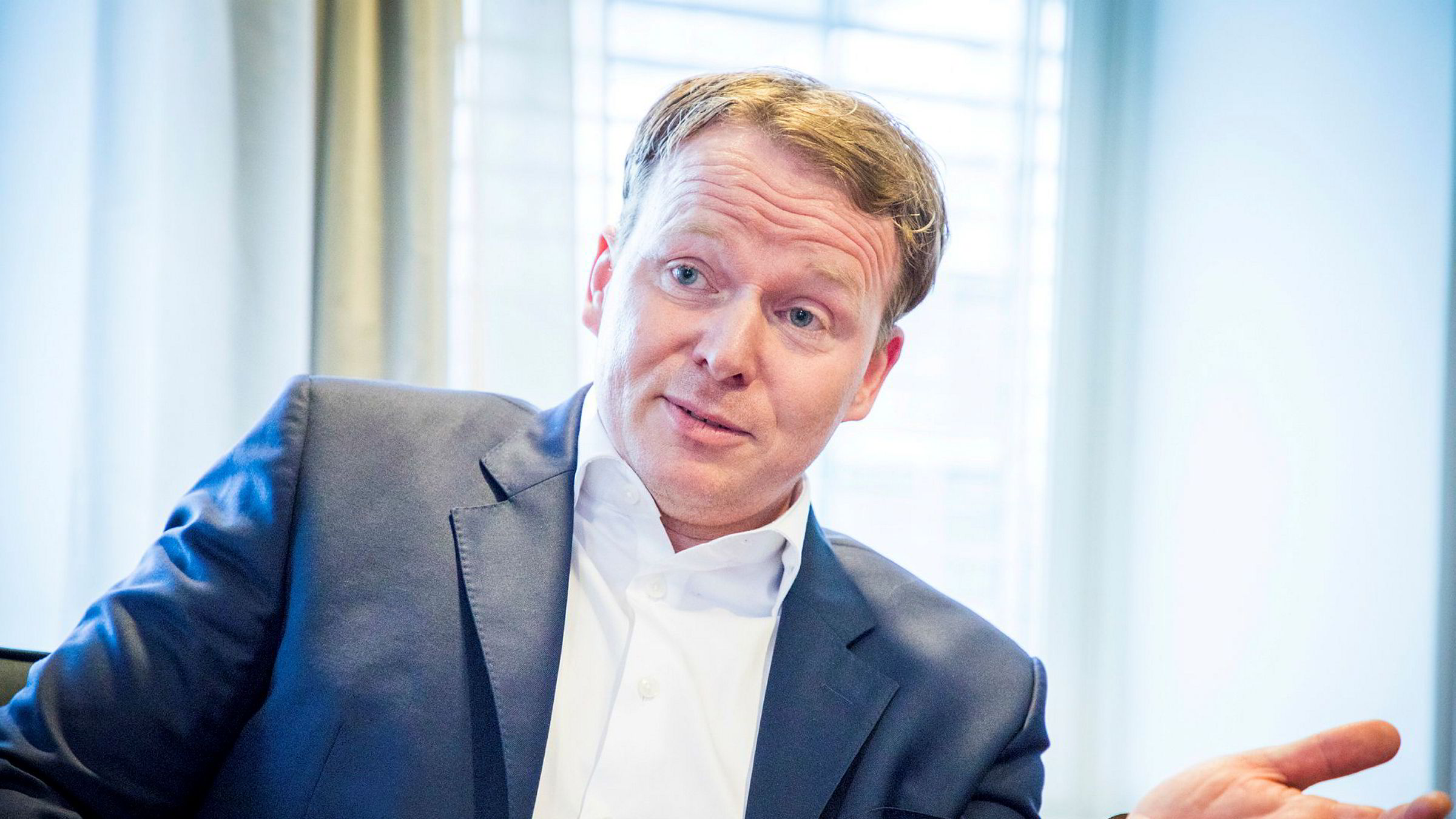Analytiker Lars-Daniel Westby i Sparebank 1 Markets.