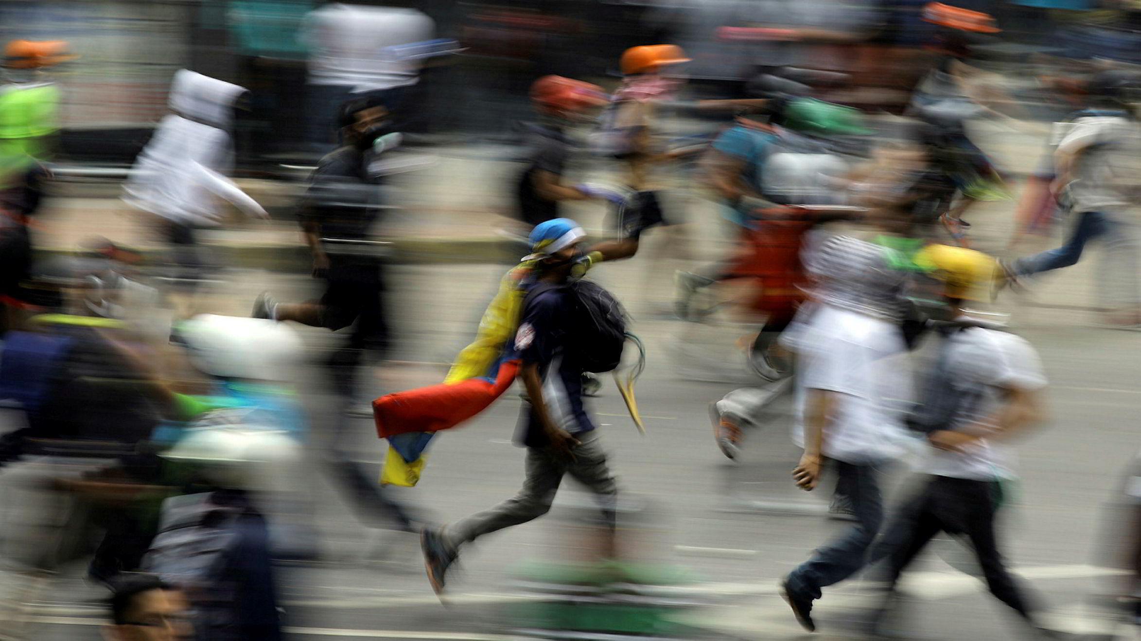 Krisen i Venezuela fortsetter. Og det er daglige demonstrasjoner og sammenstød sikkerhetsstyrkene i landet.