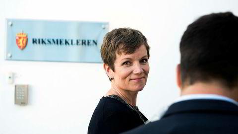 President Marit Hermansen i Den norske legeforening tror den nye tariffavtalen vil skape ro i sykehusene.
