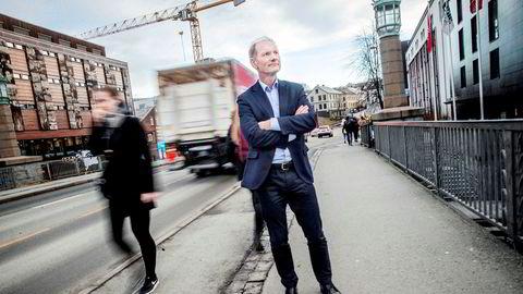 Investorene i vekst-fondet Viking Venture har sagt opp avtalen med forvalterne av fondet. Det er ledende partner Erik Fjellvær Hagen i Viking Venture skuffet over. Her i Trondheim der fondet har kontor.