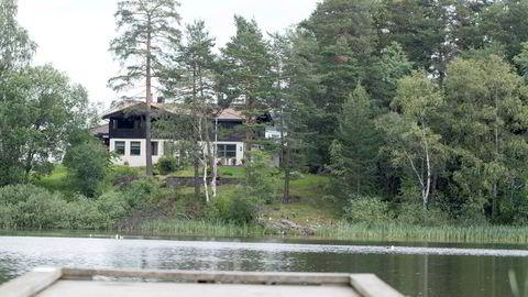 Politiet tror Anne-Elisabeth Hagen ble drept hjemme i Sloraveien 4  i Lørenskog.