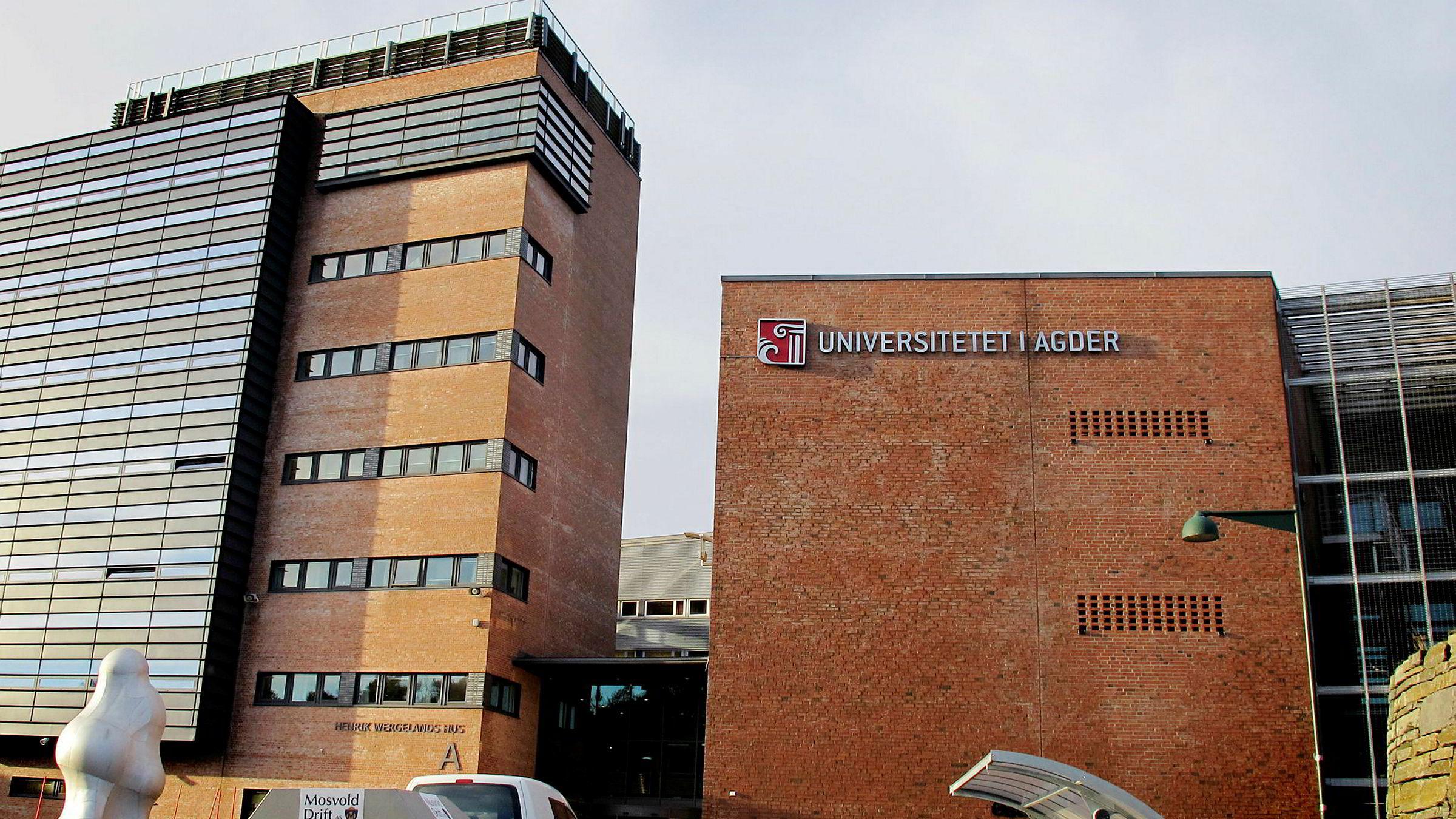 Universitetet i Agder, Kristiansand.