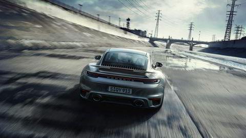 Porsche 911 generasjon 992 i Turbo S-versjon.