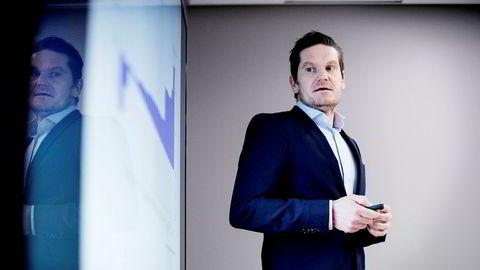 Sjeføkonom Kjetil Olsen i Nordea tror Norges Bank blir den første sentralbanken som setter opp renten.