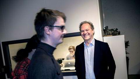 Lars Erik Torjussen har på drøyt to år nær doblet antall studenter ved den private fag- og høyskolen Noroff.