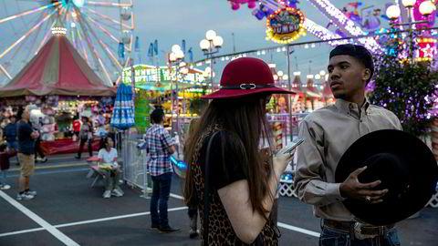 Under Houston Livestock Show and Rodeo er det enorme tivolier på messeområdet. Norske Equinor var tidligere sponsor for arrangementet.