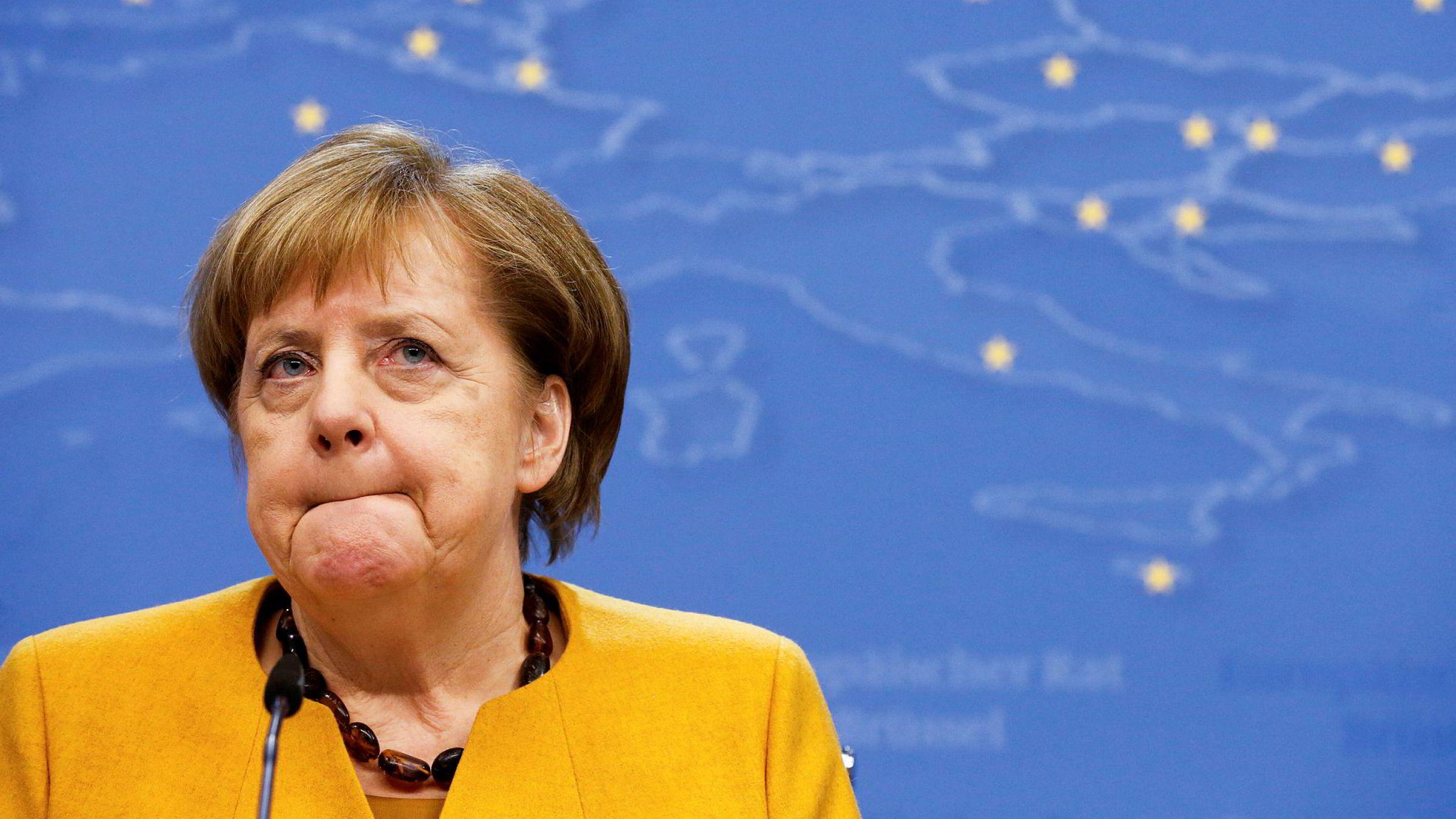Tysklands statsminister, Angela Merkel, sier Russland er involvert i hackerangrep mot Forbundsdagen.