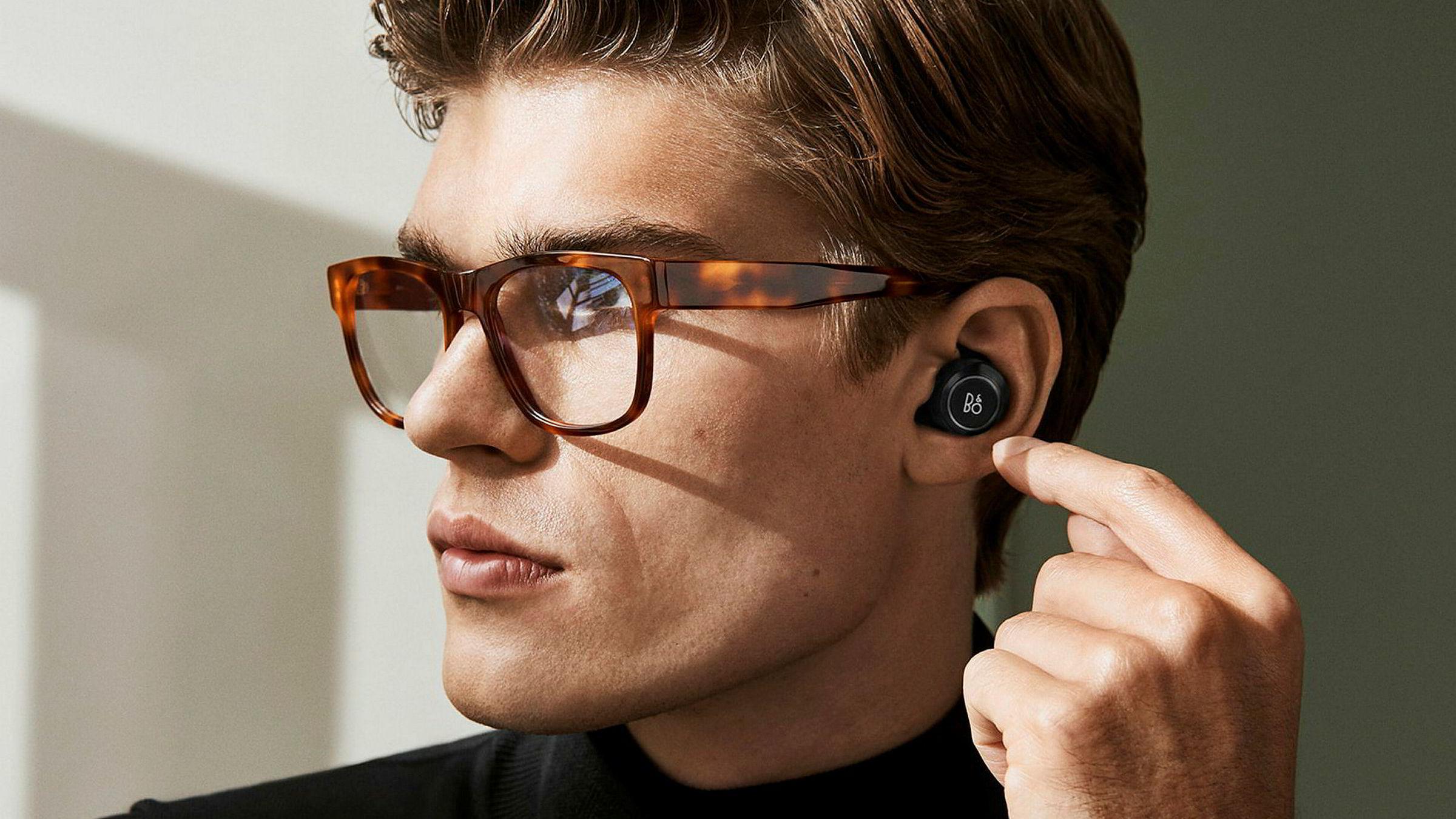 Disse øreproppene er helt uten ledninger, for maks fleksibilitet.