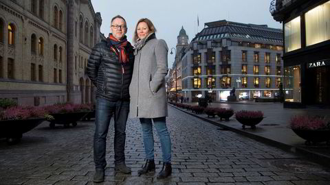 Dagbladet-redaktør John Arne Markussen og kona, TV 2-sjef Silje Hovland innrømmer at mediedebattene hjemme hos dem kan bli opphetede.