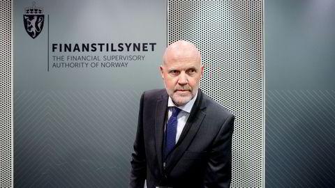 – Utviklingen i mislighold av forbrukslån gir grunn til uro, sier finanstilsynsdirektør Morten Baltzersen.