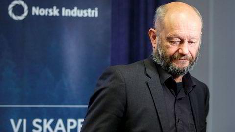 – Våre bedrifter frykter det neste halvåret. De ser at det ikke kommer nye oppdrag inn, sier Norsk Industri-sjef Stein Lier-Hansen.