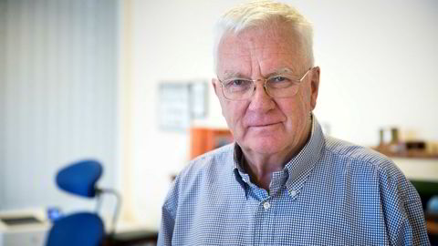 Trygve Hegnar er styreleder i Hurtigruten. Tidligere har han uttalt at han har full tillit til konsernsjef Daniel Skjeldam.