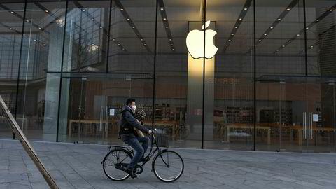 Apple advarer om at de ikke vil nå målene som er satt for andre kvartal. Dette skyldes produksjonsstopp ved kinesiske fabrikker og at Apple har stengt nesten alle egne utsalg i Kina siden slutten av januar.