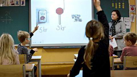 Mange av aktørene som skal forvalte emnet livsmestring i skolen klart ser både mulighetene og utfordringene ved det, skriver artikkelforfatteren. Illustrasjonsfoto.